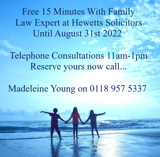Free 15 minutes with Family Law Experts - call now